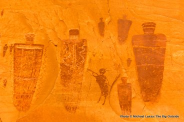 The Great Gallery pictographs, Horseshoe Canyon District, Canyonlands National Park.
