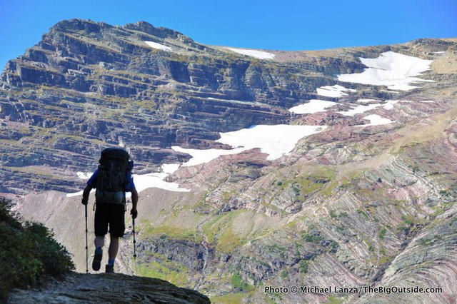 Backpacking the Gunsight Pass Trail, Glacier National Park.