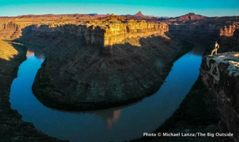 Above the Green River, Island in the Sky District, Canyonlands National Park.