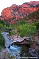 La Verkin Creek, Kolob Canyons, Zion National Park.