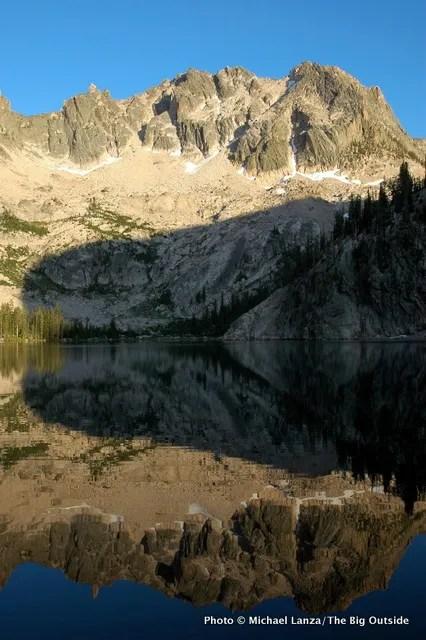 Upper Cramer Lake, Sawtooth Mountains, Idaho.