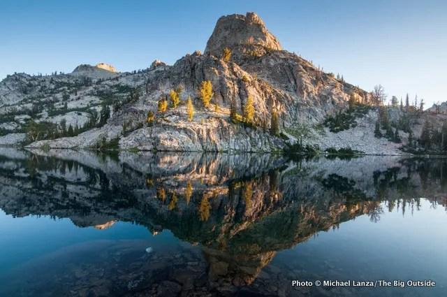 Lake 8522, Sawtooth Mountains, Idaho.