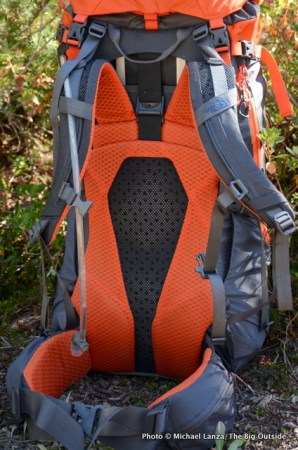 The North Face Fovero 70 harness.