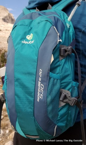 Gear Review Deuter Speed Lite 20 Daypack The Big Outside