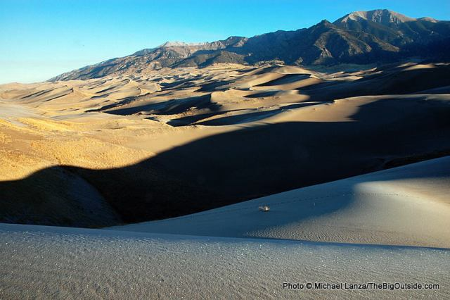 Great Sand Dunes National Park & Preserve, Colorado.