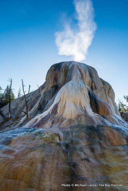 Mammoth Hot Springs, Yellowstone.