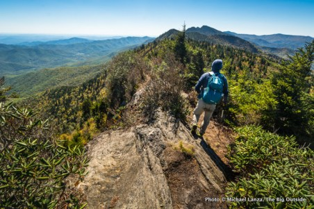 Black Mountain Crest Trail, Mount Mitchell.