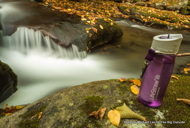 LifeStraw Go Water Bottle With 2-Stage Filtration.