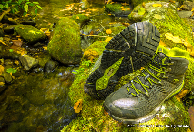 Keen Aphlex Mid WP boots, Great Smoky Mountains National Park.