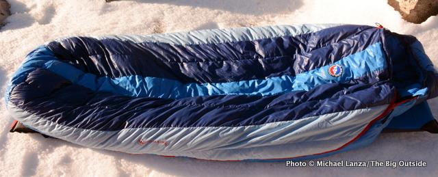 Big Agnes Storm King 0 sleeping bag.
