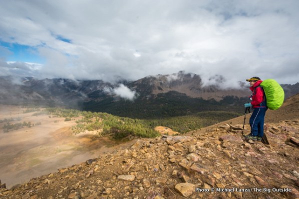 Above Ants Basin, White Cloud Mountains.