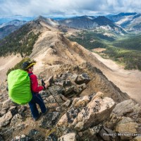 Backpacking Patterson Peak.