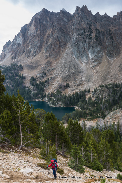 Quiet Lake, White Cloud Mountains, Idaho.