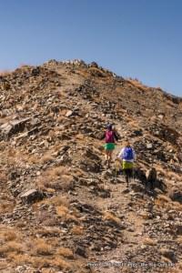 Near summit of Telescope Peak.