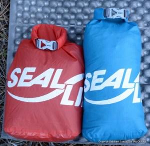SealLine BlockerLite dry sacks.