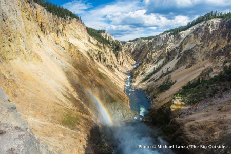 Grand Canyon of the Yellowstone River, Yellowstone National Park.