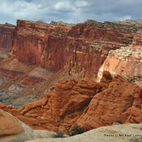 Near Frying Pan Trail, Capitol Reef National Park.