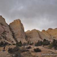 Along the Beehive Traverse, Capitol Reef National Park.