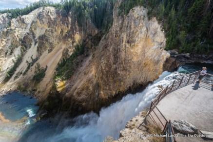Lower Yellowstone Falls, Yellowstone National Park.