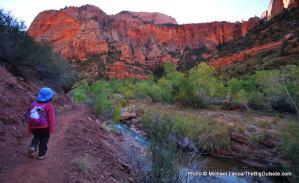 La Verkin Creek, Kolob Canyons.