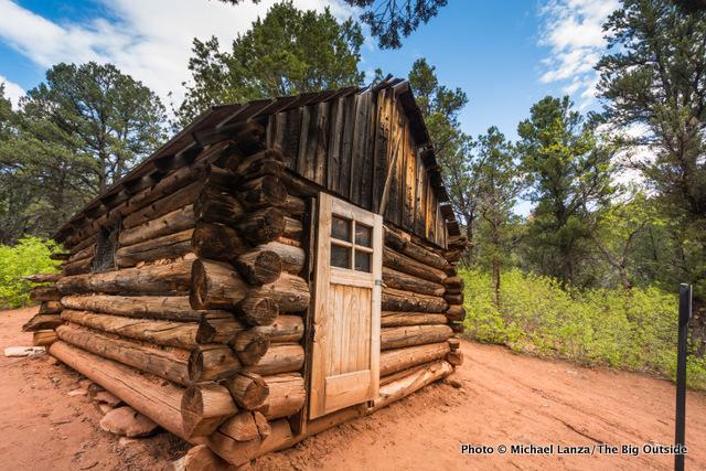 Larson Cabin, Taylor Creek Trail.