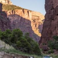 Wild Mountain campsite, Lodore Canyon.
