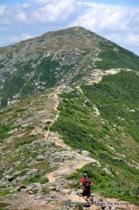 Hiking Franconia Ridge.