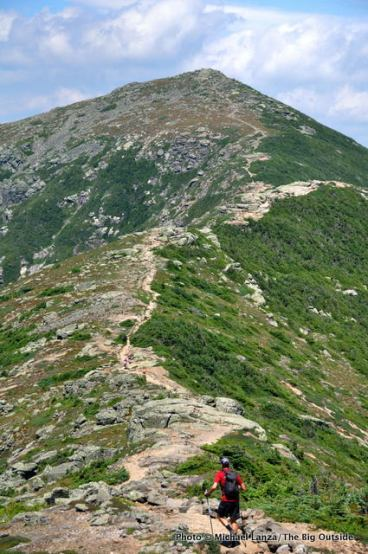 Hiking Franconia Ridge.