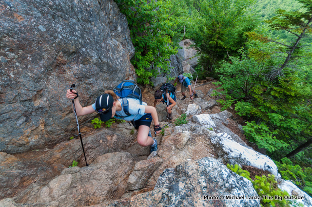 Hiking the Wildcat Ridge Trail, White Mountains, N.H.