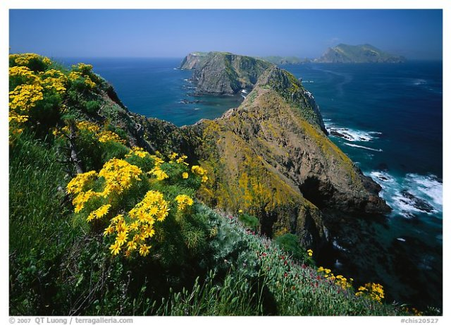 View from Inspiration Point, Anacapa Island, Channel Islands National Park.
