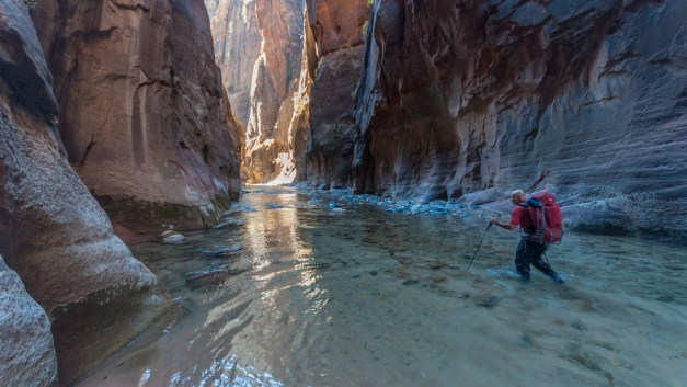 Luck of the Draw, Part 2: Backpacking Zion's Narrows