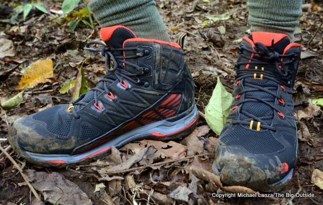 The North Face Ultra Gore-Tex Surround Mid boots.
