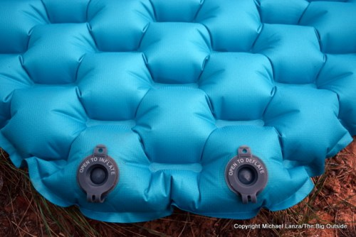 REI Flash Insulated Air Mattress valves.