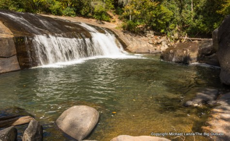 Turtleback Falls in Gorges State Park and Nantahala National Forest, N.C.