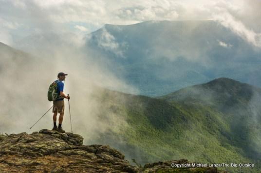 Hiking Bondcliff, White Mountains, N.H.