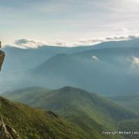 Mark Fenton on Bondcliff, White Mountains, N.H.