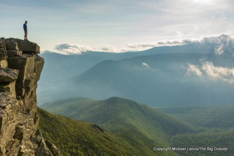 Mark Fenton on Bondcliff, White Mountains, N.H.