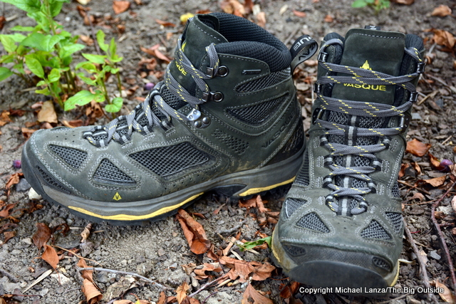 Vasque Breeze III Mid GTX boots.
