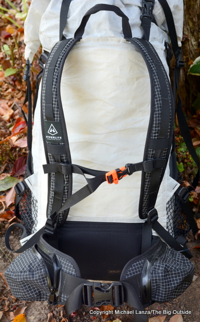 Hyperlite Mountain Gear 3400 Windrider harness.