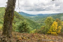 North Cove, Blue Ridge Parkway, Pisgah National Forest.