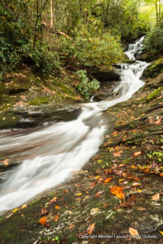 Roaring Fork Falls, Pisgah National Forest.