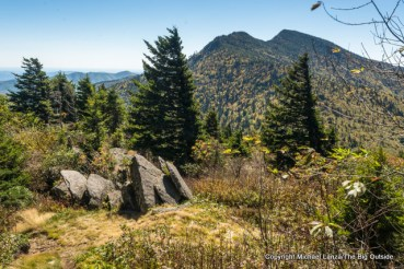 Black Mountain Crest Trail to Mount Mitchell, Pisgah National Forest.