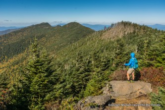 Black Mountain Crest Trail to Mount Mitchell, Pisgah National Forest.Black Mountain Crest Trail to Mount Mitchell, Pisgah National Forest.