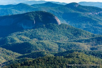 Looking Glass Rock, Pisgah National Forest.