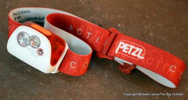 Petzl Actik Core headlamp.