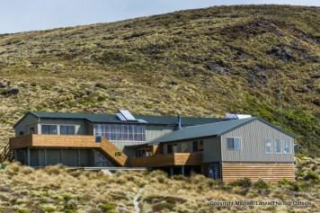 Luxmore Hut, Kepler Track, Fiordland National Park.