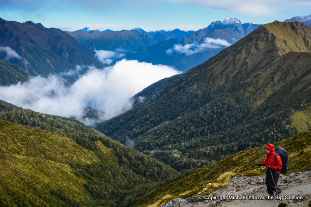 Hiking the Kepler Track, Fiordland National Park.