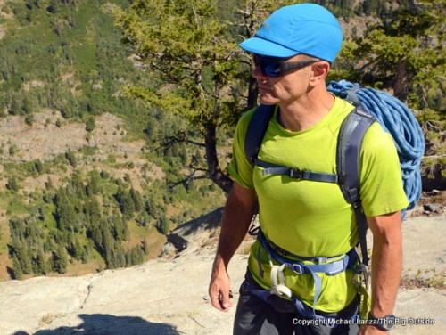 Patagonia Linked Pack 16L harness.