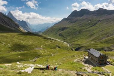 A museum below the Col de la Seigne, along the Tour du Mont Blanc.