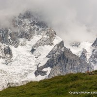 Trekking the Tour du Mont Blanc.